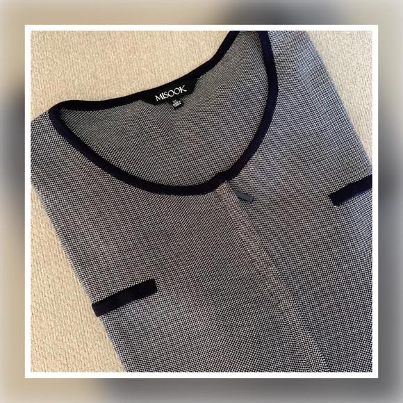 Misook Jackets Coats Misook Knit Zipper Front Jacket Blazer Xl Poshmark
